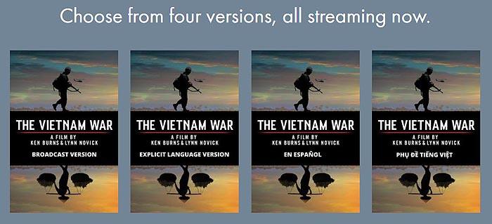 VietnamWarVersions