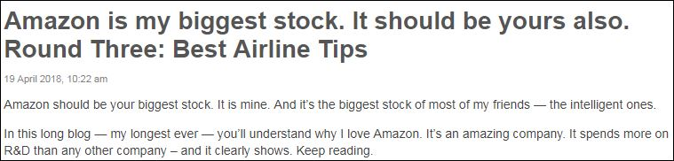 AmazonHeadline